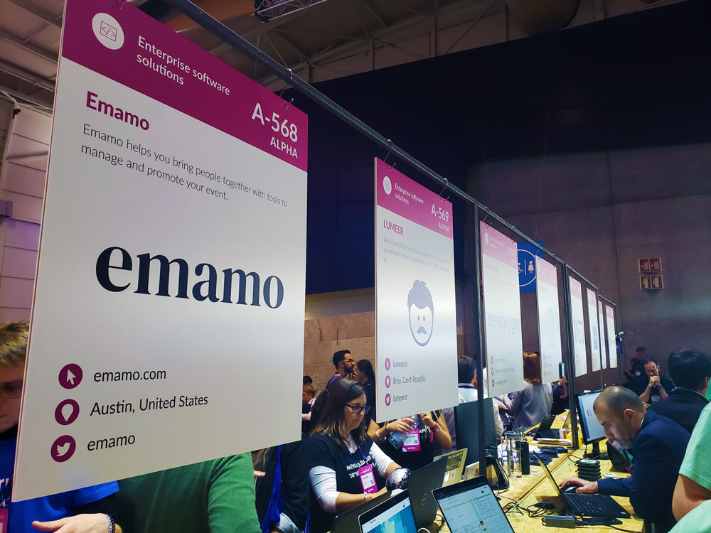Emamo at Web Summit as an Alpha Startup
